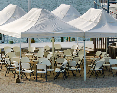 Frame tents can be set up on any surface. (Lawns decks Asphalt Concrete). They give a much greater support than Pole tents and can easily accomodate ... & Au0026M Party Rentals ! is Bucks and Montgomery Countyu0027s Party ...