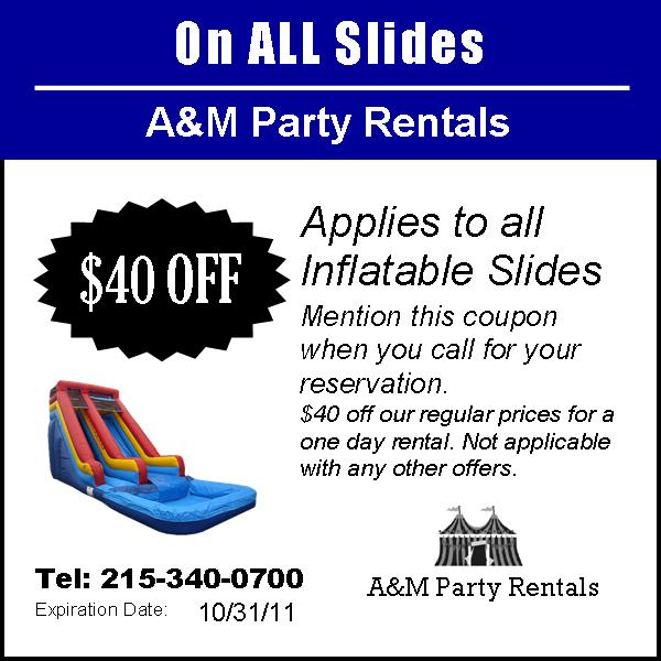 Rent Com Contact: A&M Party Rentals ! Is Bucks And Montgomery County's Party